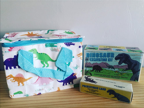 Dinosaur Lunch Bag Set