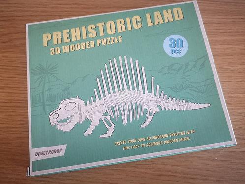 Prehistoric Land Wooden Puzzle