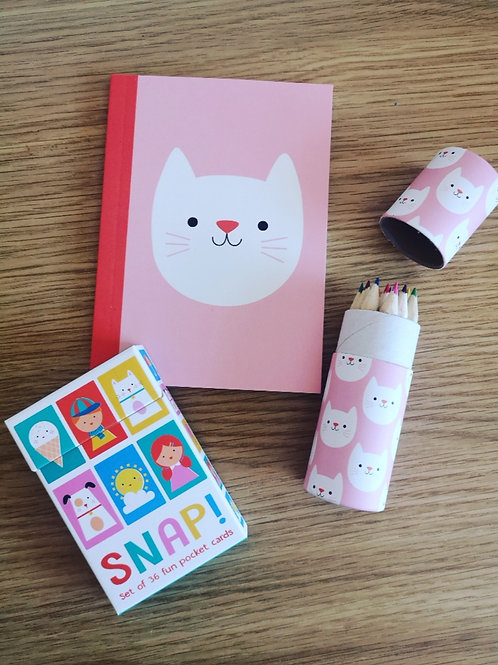 Cookie the Cat Gift Set