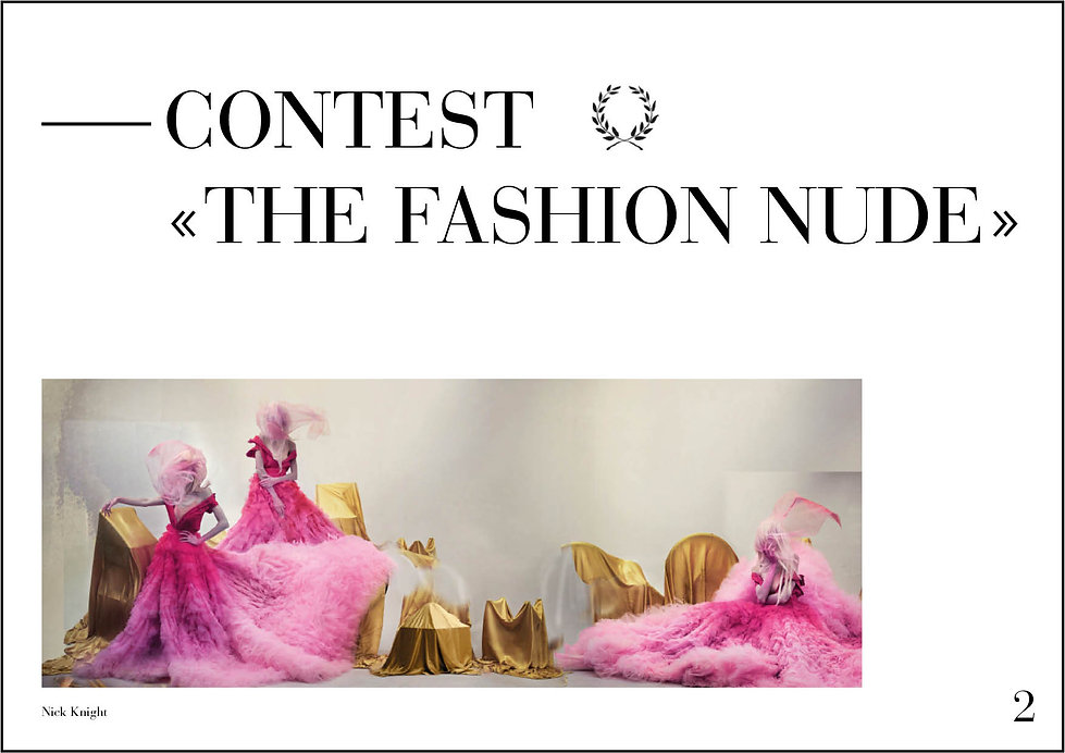 Press Release - Uk - Fashion Nude Contes
