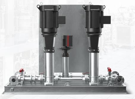 Hydro HP Grundfos wash down system