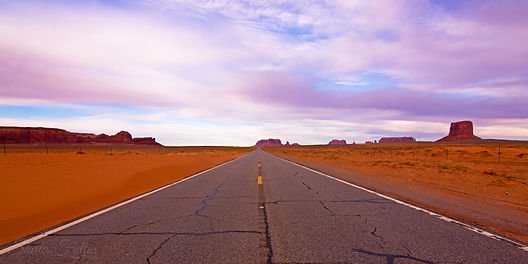 Roadtrip, Monument Valley, Arizona, Sunset, Clouds