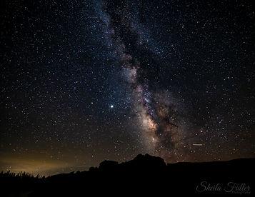 Dark Sky, Milkyway, Colorado State Parks, Colorado, Silhouette