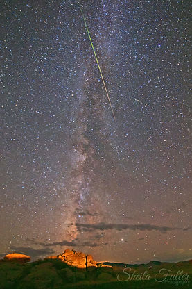 Fall From Grace, Milkyway, Perseids Meteor Shower, Colorado State Parks