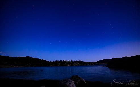 Blue Hour, Dark Sky, Colorado State Parks, Colorado, Silhouette