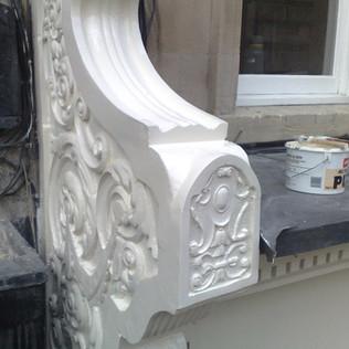 Exterior Decorating Detail