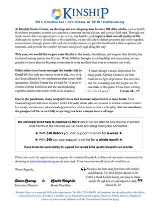 Help Ensure Kinship's Future <3