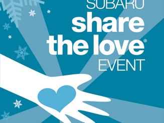 It's Back!  Subaru Share the Love!