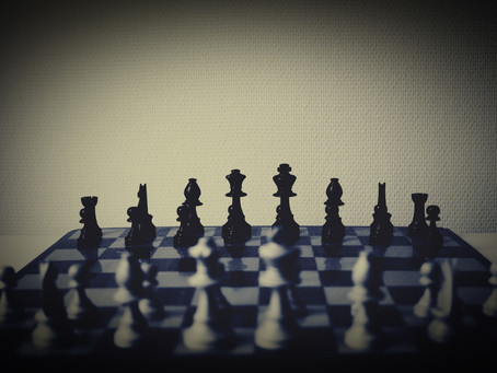 It's Chess, Not Checkers!