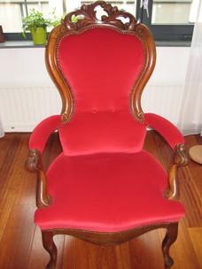 Rode stoel