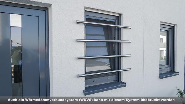 Gut gemocht Fenstergitter Edelstahl modern - Ein sicherer Einbruchschutz FH45