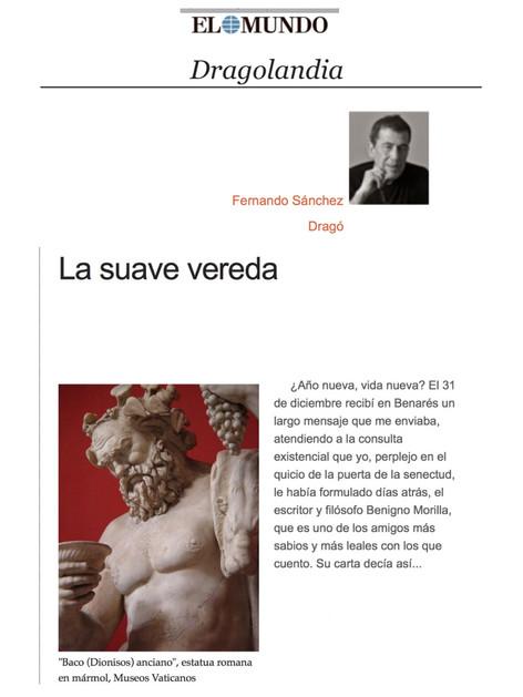 Carta de B. Morilla inserta en el artículo de Sánchez Dragó en El Mundo
