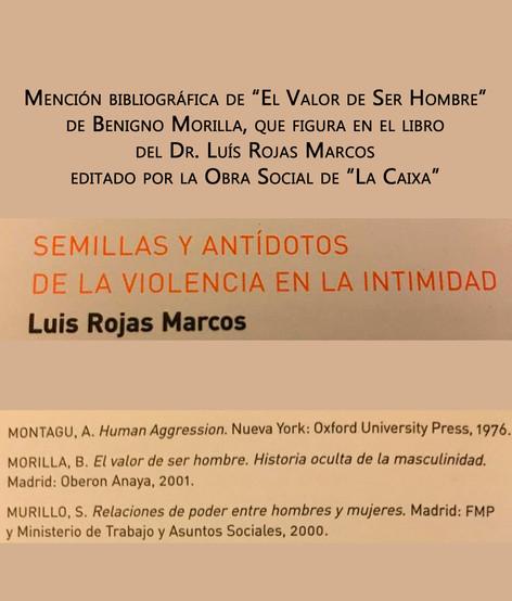 Mención bibliográfica de Benigno Morilla por parte del Dr. Rojas Marcos