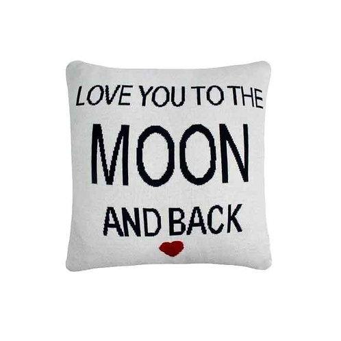 כרית Love You To The Moon And Back