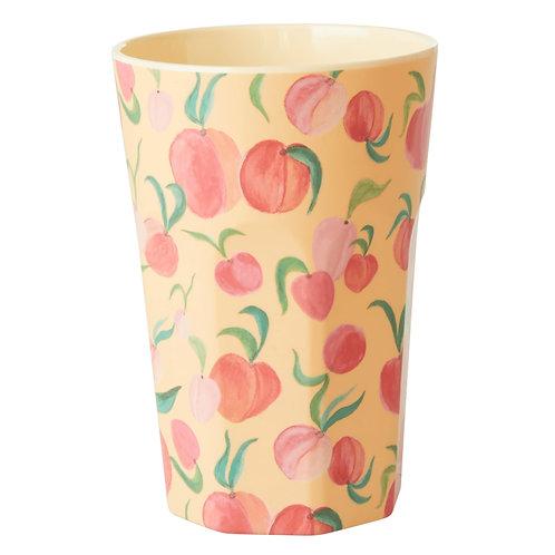 כוס מלמין לאטה אפרסקים RICE