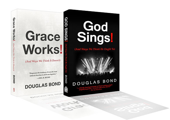 Companion-Book-Bundle: God Sings! and Grace Works!
