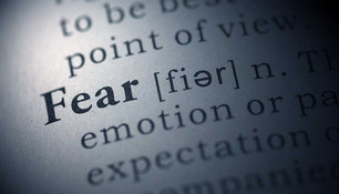 FEAR: Don't Be Afraid to Admit It