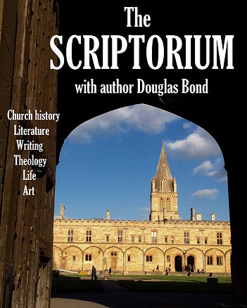 The scriptorium podcast logo oxford ccc[