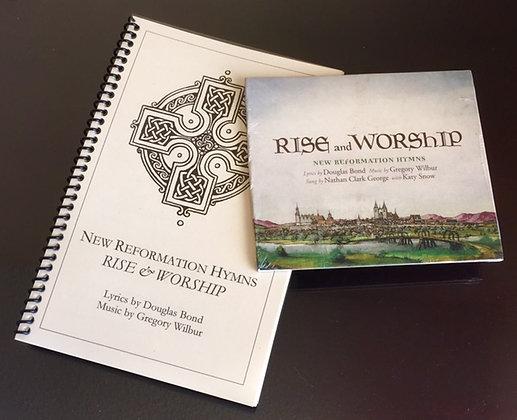 Lyrics, music, and audio album RISE & WORSHIP New Reformation Hymns