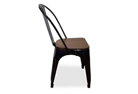 Silla 955 asiento madera