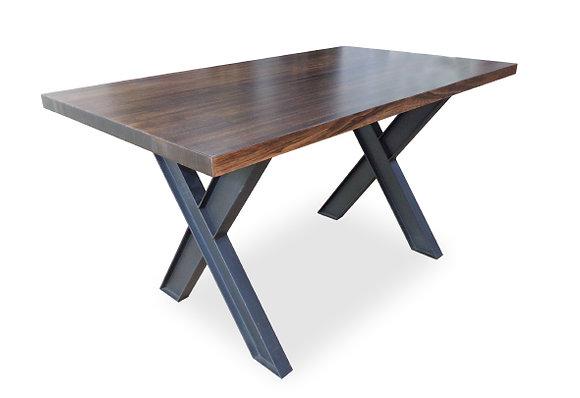 Mesa 117 Listones de madera maciza Eucalipto