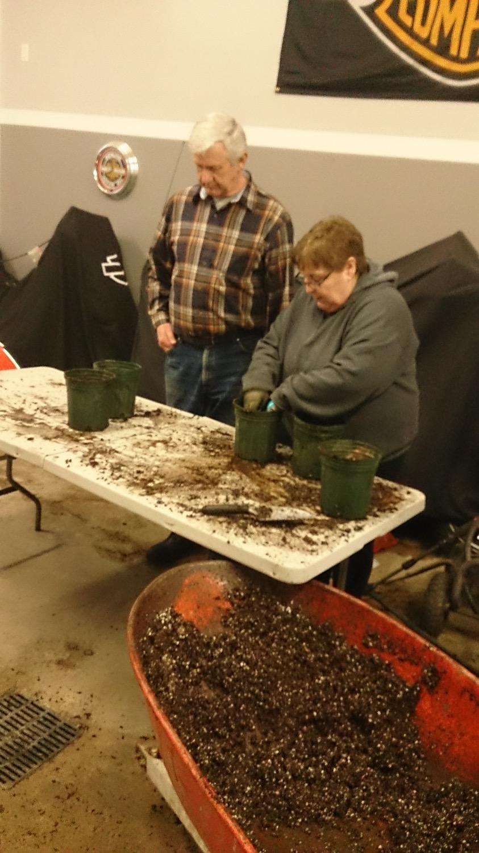 Filling the Pots