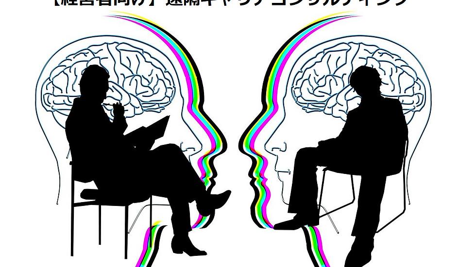 【経営者向け】ZOOMでの遠隔キャリアコンサルティング(90分)