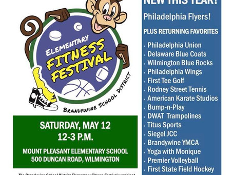 Fitness Festival is coming May 12!