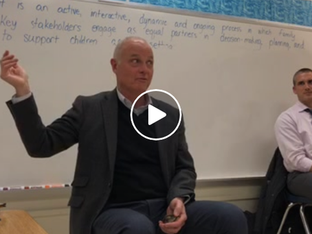 Miss the Jan. PTA meeting? Watch the Mindfulness presentation by Dr.  Walsh now