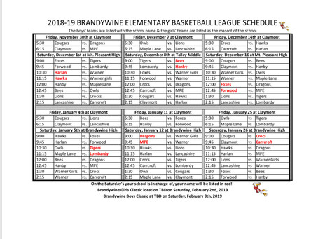 Go, Dragons, go! MPE boys & girls basketball schedule