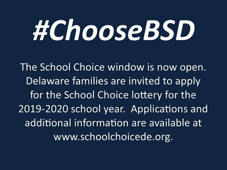 BSD Choice, Gifted services referrals now open; Nov. middle school open houses
