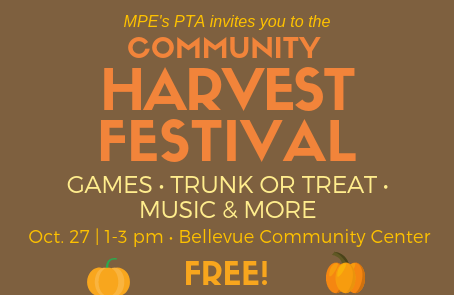 UPDATE: Community Fall Festival Cancelled