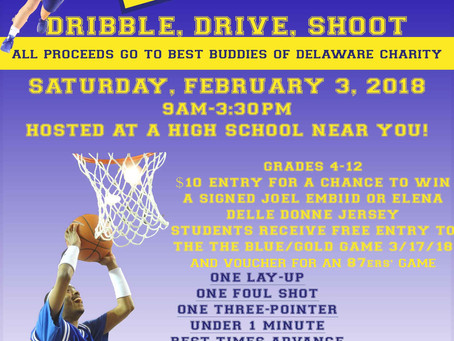 Dribble, Drive, Shoot to support Best Buddies of Delaware!