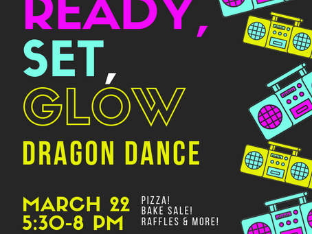 Save the date: Dragon Dance, March 22