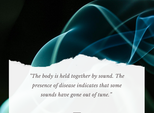Sound holds the body together
