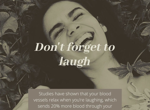 Laughter is good for your heart!