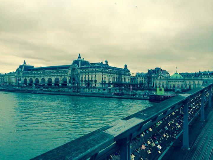 The Seine near D'Orsay