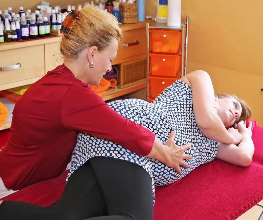 Osteopathie für werdende Mamas