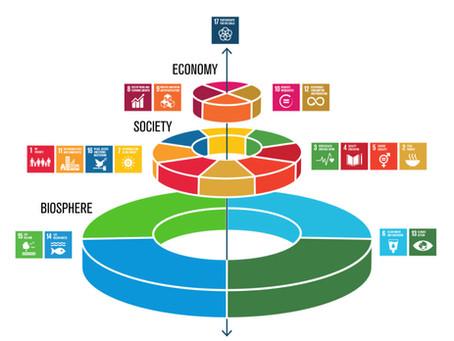 Bærekraftsmål som bryllupskake-modell