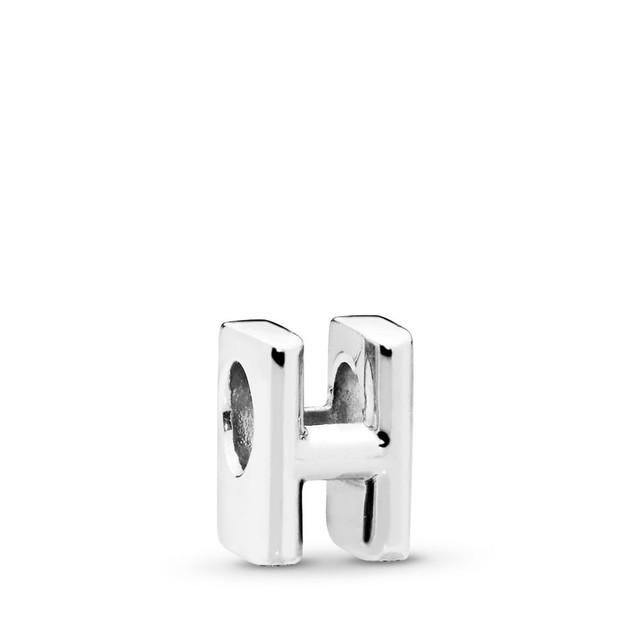Letter H Charm