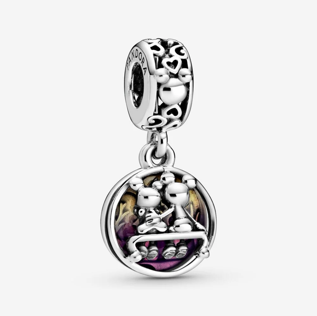 Disney Mickey Mouse & Minnie Mouse Happily Ever After Dangle Charm