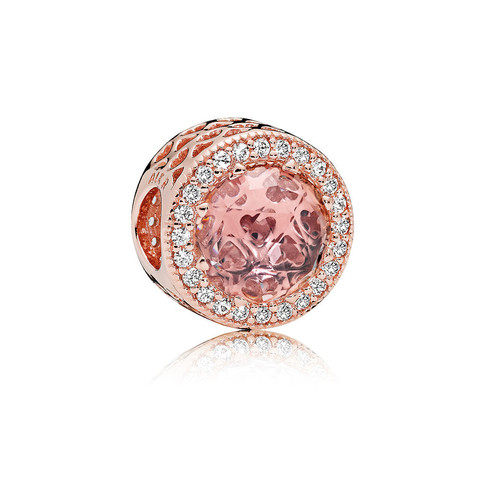 Radiant Hearts, PANDORA Rose™ & Blush Pink Crystal
