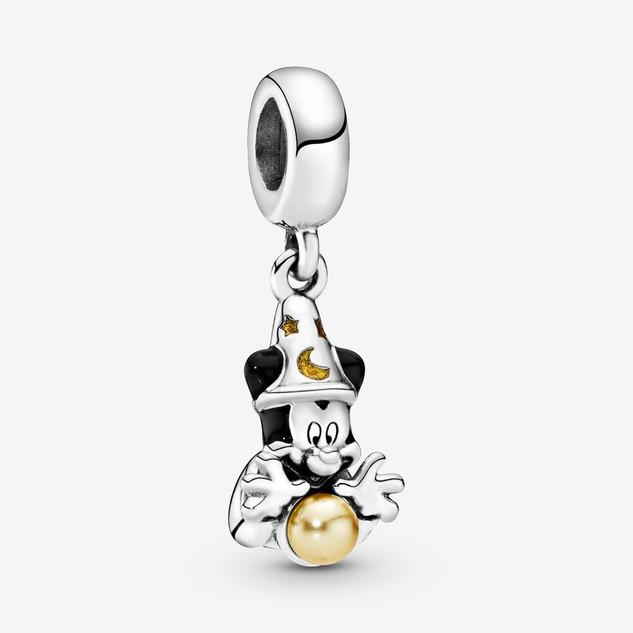 Disney Fantasia Sorcerer Mickey Mouse Dangle Charm