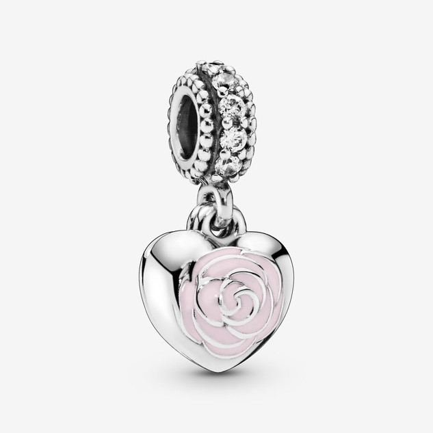 Mother & Friend Flower Dangle Charm