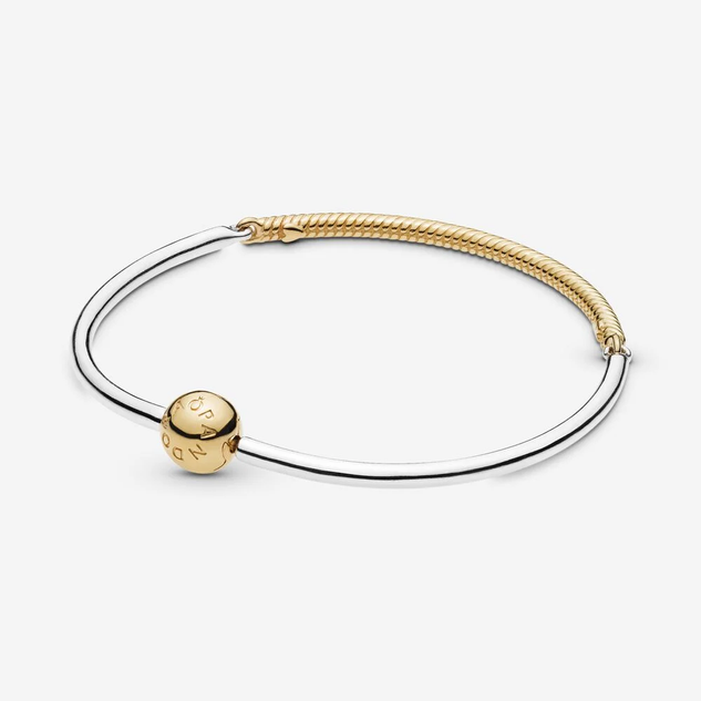 Moments Three-Link Charm Bangle