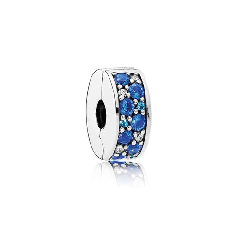 Mosaic Shining Elegance, Multi-Colored Crystals & Clear CZ