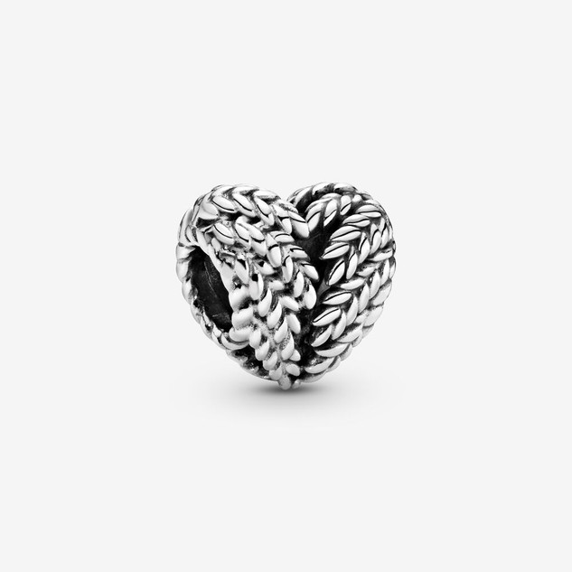 Grains Heart Charm
