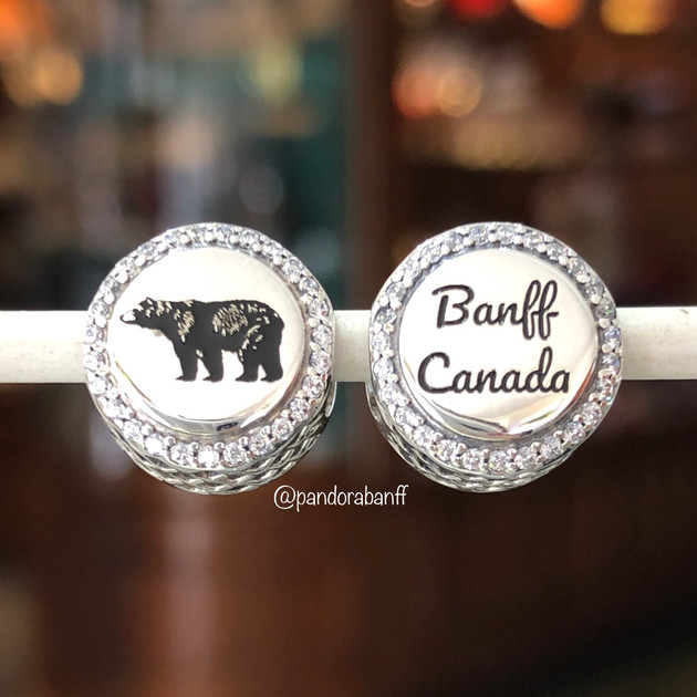 Banff Canada Bear Charm