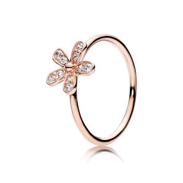 Dazzling Daisy, PANDORA Rose™ & Clear CZ