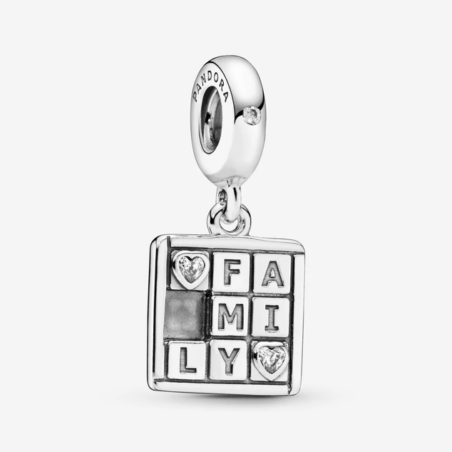 Family Game Dangle Charm
